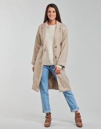 Oblečenie Ženy Kabáty Betty London PIXIE Béžová