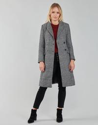 Oblečenie Ženy Kabáty Betty London PIXIE Čierna / Šedá