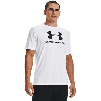 Oblečenie Muži Tielka a tričká bez rukávov Under Armour Ua Sportstyle Logo Biely