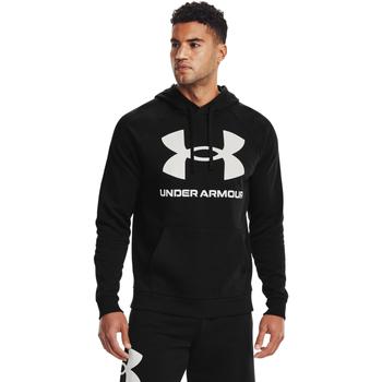 Oblečenie Muži Mikiny Under Armour Rival Fleece Big Logo čierna