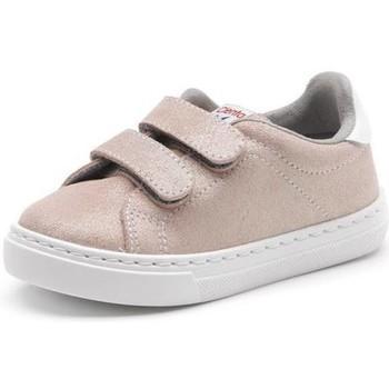 Topánky Dievčatá Módne tenisky Cienta Chaussures fille  Deportivo Scractch Glitter rose