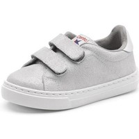 Topánky Dievčatá Nízke tenisky Cienta Chaussures fille  Deportivo Scractch Glitter gris clair