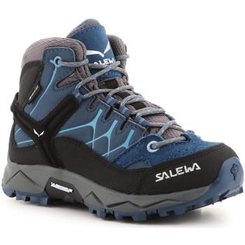 Topánky Deti Turistická obuv Salewa Jr Alp Trainer Mid GTX 64010-0365 blue