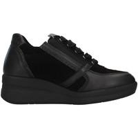 Topánky Ženy Členkové tenisky Melluso R25623A BLACK