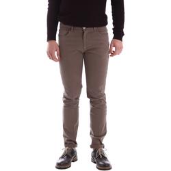 Oblečenie Muži Nohavice Sei3sei 02396 Hnedá