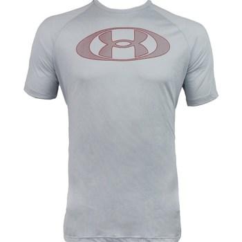 Oblečenie Muži Tričká s krátkym rukávom Under Armour Tech 20 Lockertag Sivá