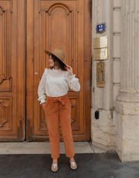 Oblečenie Ženy Nohavice päťvreckové Céleste MARRONNIER Ťavia hnedá