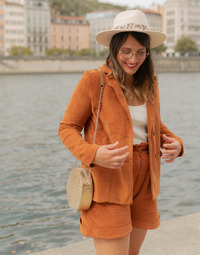 Oblečenie Ženy Saká a blejzre Céleste SASSAFRAS Ťavia hnedá