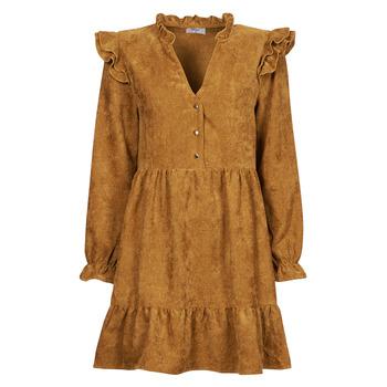 Oblečenie Ženy Krátke šaty Betty London PRIXOUTE Ťavia hnedá
