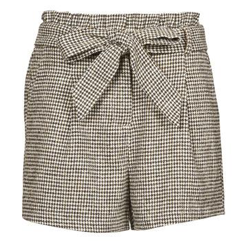 Oblečenie Ženy Šortky a bermudy Betty London PRICSOU Čierna / Krémová