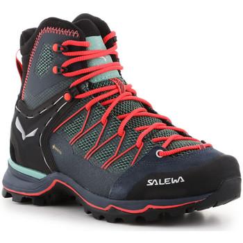 Topánky Ženy Turistická obuv Salewa Ws Mtn Trainer Lite Mid GTX 61360-5585 green