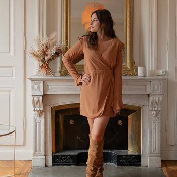 Oblečenie Ženy Módne overaly Céleste NOYER Ťavia hnedá