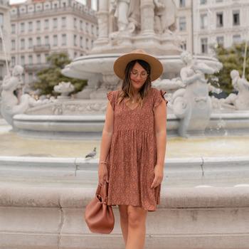 Oblečenie Ženy Krátke šaty Céleste DAHLIA Viacfarebná