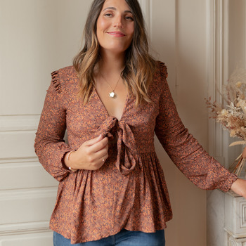 Oblečenie Ženy Blúzky Céleste ROSSIGNOL Viacfarebná