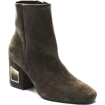 Topánky Ženy Polokozačky Vic 1R6000D.R18Q040350 marrone