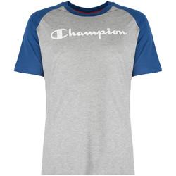 Oblečenie Muži Tričká s krátkym rukávom Champion  Modrá