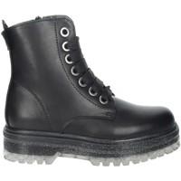 Topánky Dievčatá Polokozačky Asso AG-12532 Black