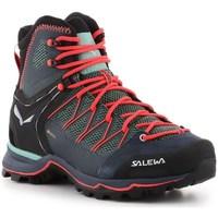 Topánky Ženy Turistická obuv Salewa WS Mtn Trainer Lite Mid Gtx Modrá