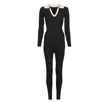 Oblečenie Ženy Súpravy vrchného oblečenia Moony Mood  Čierna