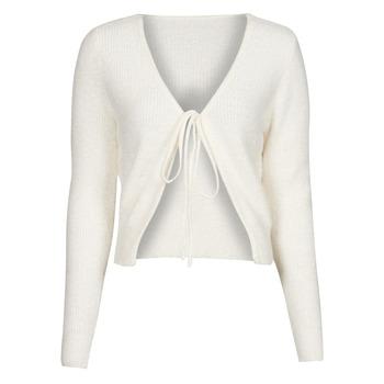 Oblečenie Ženy Cardigany Yurban  Biela