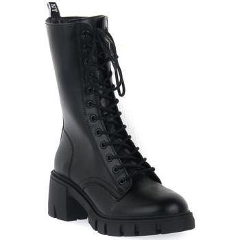 Topánky Ženy Čižmičky Steve Madden BLACK HIGHLAND Nero