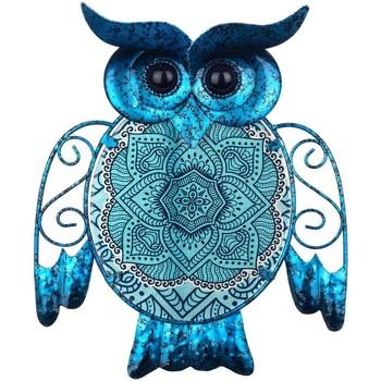 Domov Sochy Signes Grimalt Sova Figúrka Azul