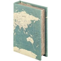 Domov Truhlice Signes Grimalt Krabica Na Knihy Azul