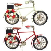 Domov Sochy Signes Grimalt Bicykel Set 2 U Multicolor