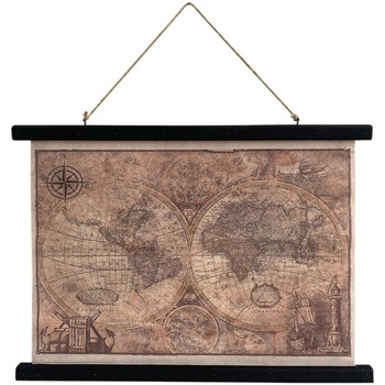 Domov Obrazy, plátna Signes Grimalt Súhrnná Mapa Na Plátne Multicolor