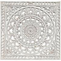 Domov Obrazy, plátna Signes Grimalt Nástenný Ornament Blanco