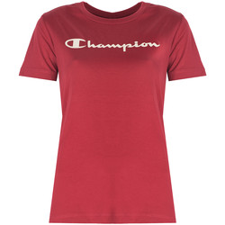 Oblečenie Ženy Tričká s krátkym rukávom Champion  Červená