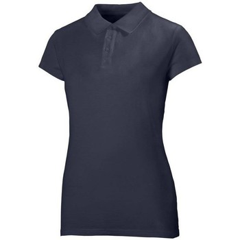 Oblečenie Ženy Polokošele s krátkym rukávom Helly Hansen Crew Polo Tmavomodrá