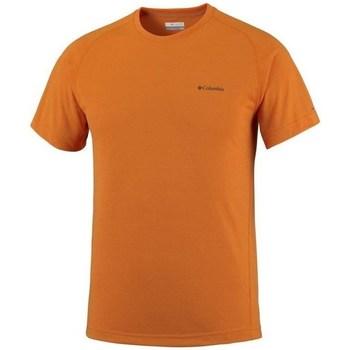 Oblečenie Muži Tričká s krátkym rukávom Columbia Mountain Tech Iii Oranžová