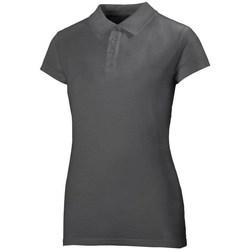 Oblečenie Ženy Polokošele s krátkym rukávom Helly Hansen Crew Polo Sivá