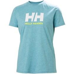Oblečenie Ženy Tričká s krátkym rukávom Helly Hansen W Logo Tshirt Belasá