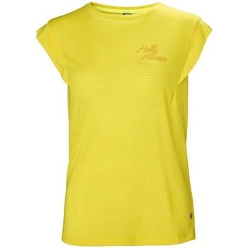 Oblečenie Ženy Tričká s krátkym rukávom Helly Hansen Siren Spring Žltá
