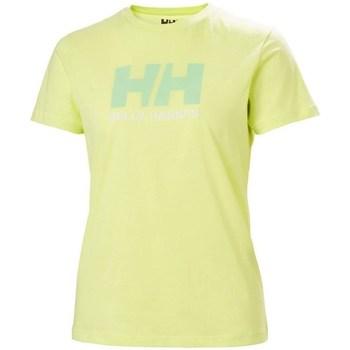 Oblečenie Ženy Tričká s krátkym rukávom Helly Hansen W Logo Tshirt Zelená