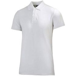 Oblečenie Muži Polokošele s krátkym rukávom Helly Hansen Crew Polo Biela
