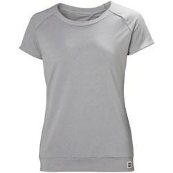 Oblečenie Ženy Tričká s krátkym rukávom Helly Hansen Malla Sivá