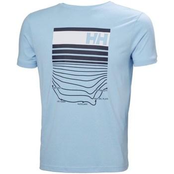 Oblečenie Muži Tričká s krátkym rukávom Helly Hansen Shoreline Belasá