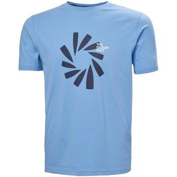 Oblečenie Muži Tričká s krátkym rukávom Helly Hansen The Ocean Race Belasá