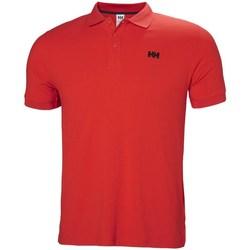 Oblečenie Muži Polokošele s krátkym rukávom Helly Hansen Driftline Červená