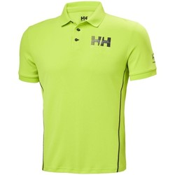 Oblečenie Muži Polokošele s krátkym rukávom Helly Hansen HP Racing Zelená
