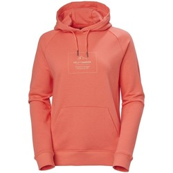 Oblečenie Ženy Mikiny Helly Hansen F2F Cotton Hoodie Červená