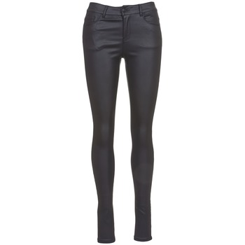 Oblečenie Ženy Džínsy Slim Vero Moda SEVEN Čierna