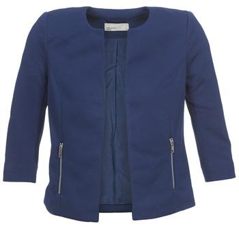 Oblečenie Ženy Saká a blejzre Vero Moda JANNI Námornícka modrá
