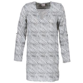 Oblečenie Ženy Krátke šaty Vero Moda COOLI Čierna / Biela