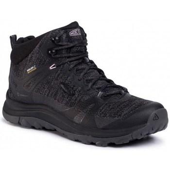 Topánky Ženy Turistická obuv Keen Terradora II Mid WP Čierna