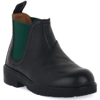 Topánky Chlapci Polokozačky Grunland NERO 88TABA Nero