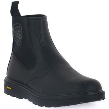 Topánky Muži Čižmy Blauer BLK GUANTANAMO 7 Nero